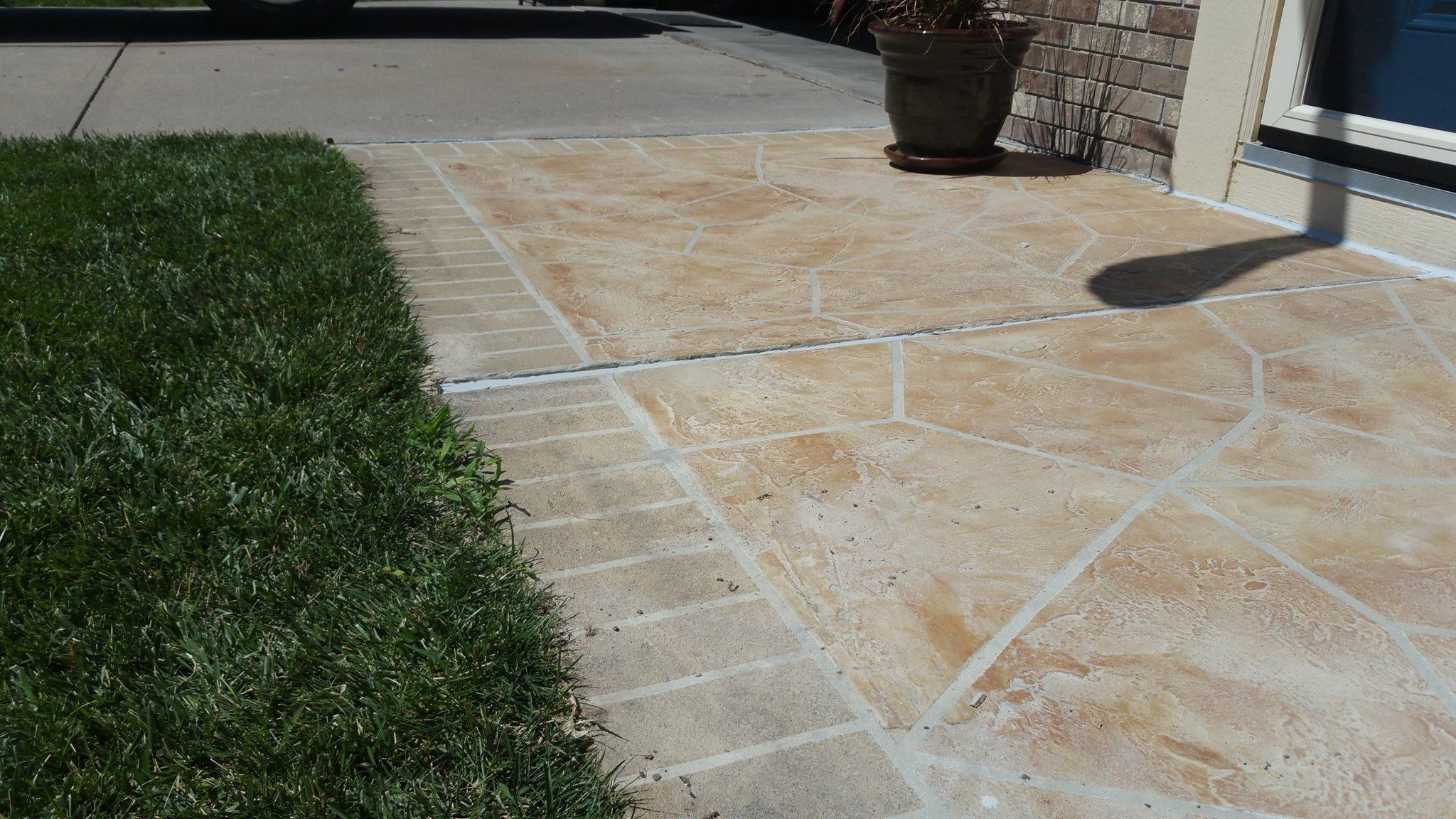 Fix Ed Concrete Patio Designs